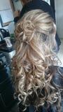 capelli fotografia stock