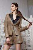 Capelli castana Marocco arabo orientale della bella donna sexy Fotografie Stock Libere da Diritti