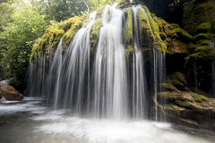 Capelli di Venere waterfall royalty free stock photo