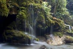 Capelli di Venere waterfall royalty free stock photos