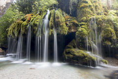Capelli di Venere waterfall royalty free stock image