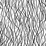 Capelli lunghi (vettore senza giunte wal Fotografia Stock