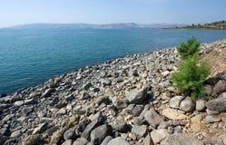 Capernaum海滩  免版税库存照片