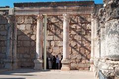 Capernaum,以色列,中东 免版税库存照片