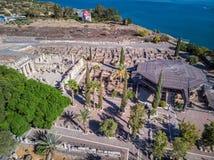 Capernaum church view