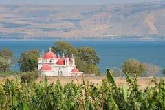 Capernaum, The greek ortodox church Royalty Free Stock Images