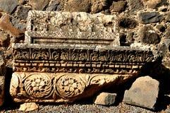 Capernaum ruins. Royalty Free Stock Photo