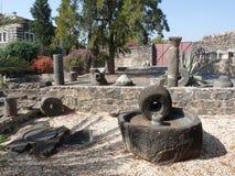 Capernaum - stad van Jesus Stock Afbeelding