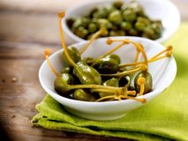 Capers. Caperberries Royalty Free Stock Images