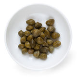 Capers Isolated Royalty Free Stock Photography