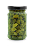 Capers jar Stock Photography
