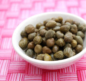 Capers Royalty Free Stock Photography