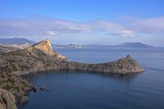 Capes Capchik and Meganom - Crimea Royalty Free Stock Image