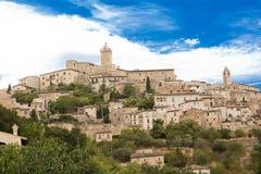Capestrano i Abruzzo (Italien) Royaltyfri Fotografi