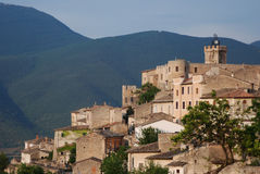 Capestrano in Italië Stock Foto