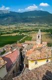 Capestrano L `-Aquila landskap, Abruzzo Italien Fotografering för Bildbyråer