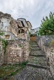 Capestrano L `-Aquila landskap, Abruzzo Italien Royaltyfria Bilder
