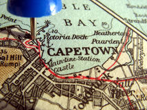 Capetown. The way we looked at Capetown in 1949 Stock Photo