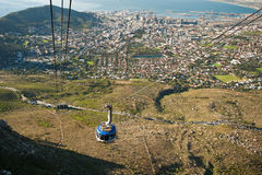 Capetown Cable way South Africa Royalty Free Stock Photo