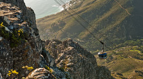 Capetown Cable way South Africa Royalty Free Stock Photography