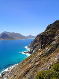 The Capetown Coast. One of worlds most amazing coast lines near Capetown SA Royalty Free Stock Photo