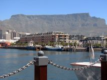 Capetown Harbor with Stock Image