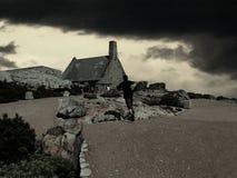 Capetown, horizontal de montagne de table Image libre de droits