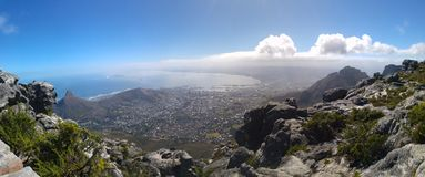 Capetown panorama Stock Images