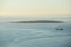 Capetown Południowa Afryka roben wyspę obraz stock