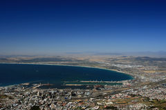 Capetown south Africa. At the coastline Stock Images