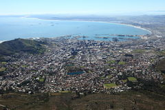 Capetown South Africa. The city capetown in south africa Royalty Free Stock Image