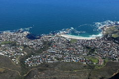 Capetown in South Africa Royalty Free Stock Images