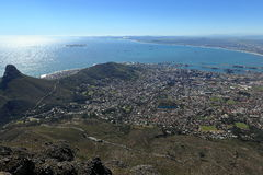 Capetown in South Africa Royalty Free Stock Photos