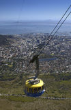 Capetown - Table Mountain - South Africa. Cable car to the top of Table Mountain in Capetown in South Africa Stock Image