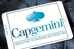 Capgemini咨询公司商标 免版税库存照片