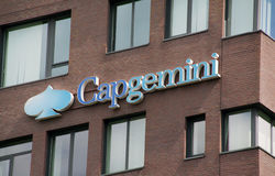 Capgemini is a French consulting firm Stock Images