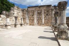 Capharnaum犹太教堂 库存照片