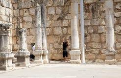 Capharnaum synagogue Stock Photography