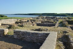Capidava堡垒 免版税库存照片