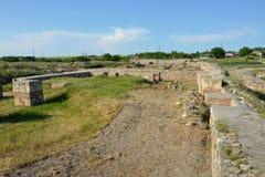 Capidava fästning Royaltyfri Foto