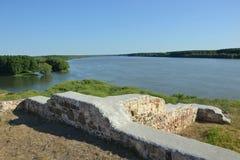 Capidava Fortress. On the banks of Danube, Dobruja, Romania Stock Image
