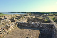 Capidava Fortress Royalty Free Stock Photos