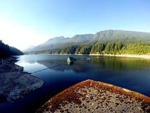 Capilano湖,温哥华VC加拿大 免版税库存图片