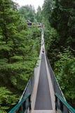 Capilano Bridge in Vancouver Stock Image