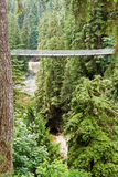 Capilano Bridge in Vancouver Stock Photography