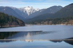 capilano jeziorny północny Vancouver Fotografia Royalty Free