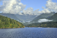 Capilano Lake Royalty Free Stock Photography