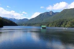 Capilano Lake, Cleveland Dam Royalty Free Stock Photo