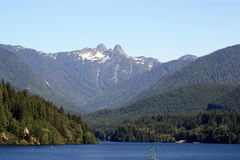 Capilano Lake Stock Photography