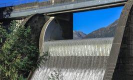 Capilano Lake's Dam Royalty Free Stock Photos